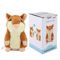 Yoego Cute Mimicry Pet Talking Hamster Repeats What You Say