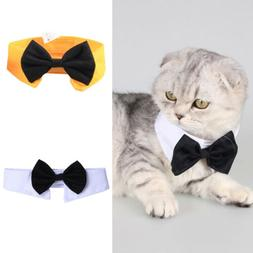 Cute Pet Dog Puppy Cats Toy Bow Tie Necktie Collar Clothes F