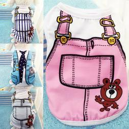 cute small pet dog apparel vest puppy