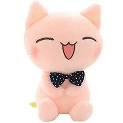 "ECTY Cute Stuffed Plush Doll, 11"" Sitting Height Soft Pink C"