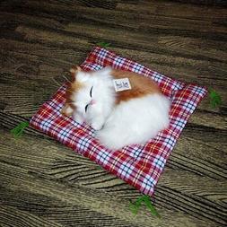 Cute Stuffed Toys Lovely Simulation Animal Cat Doll Plush Sl
