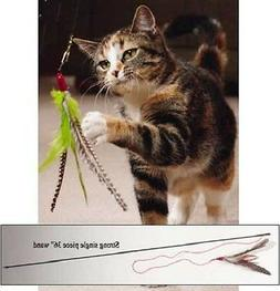 Da Bird Feather Teaser Cat Toy ! choose your options