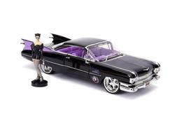 Jada Toys DC Comics Bombshells Cat Woman 1959 Cadillac Die-c