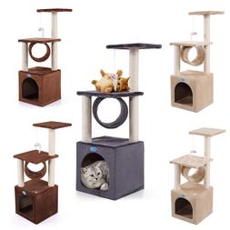 New Cat Tree House Condo Tower Scratching Post Pet Kitty Act