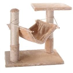 "NEW! Deluxe Cat Tree 18"" Condo Furniture Scratching Post Pet"