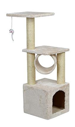 "36"" Deluxe Cat Tree Condo Furniture Scratcher Scratching Pos"