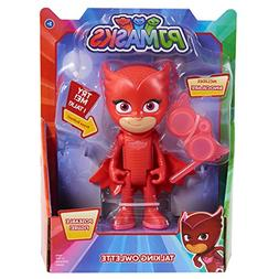 PJMASKS Deluxe Talking Figure-Owlette, Red