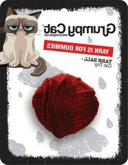 Rosewood Design-New Cute Grumpy Cat Yarn Ball Cat Toy
