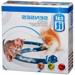Catit Design Senses Cat Toys Ball Track Chase Play Circuit O
