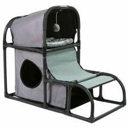 Detachable Cat Tree Scratcher Play House Condo Furniture Bed