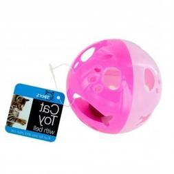 Bulk Buys DI546-96 Cat Ball Toy with Bell44; Large - 96 Piec