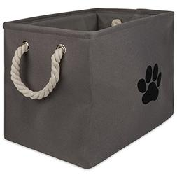 DII Bone Dry Small Rectangle Pet Toy and Accessory Storage B