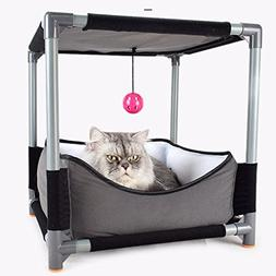 Yunt Cat Bed Nest Sofa Removable Jumping Board Cat Bed Toy S