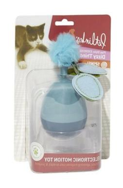 Petlinks Dizzy Thing Spinning Cat Toy, Blue