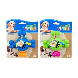 Penn Plax DL33 Quad Treat Ball for Dogs, 3.5-Inch