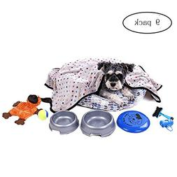 PAWZ Road Puppy Bed Soft Cuddler Small Dogs Cats Gray