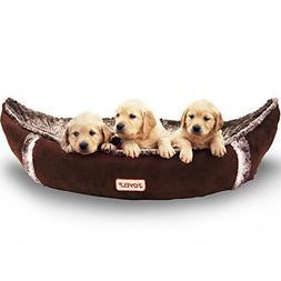 JOYELF Medium Dog Bed Orthopedic with Removable Washable Cov