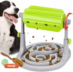 Dog Cat Puzzle Toys Food Dispenser Slow Feeder Exercise Game