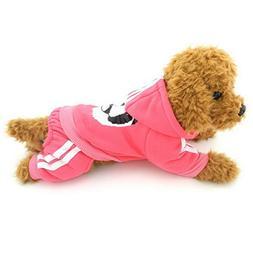 Ranphy Small Dog Cat Sweatshirts for Boys Girls Thick Panda