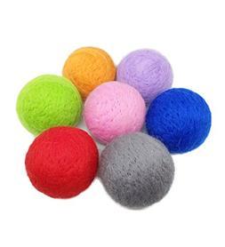 "PET SHOW 1.97"" Pet Dog Cat Toy Balls Kitten Toys Pompon Ball"