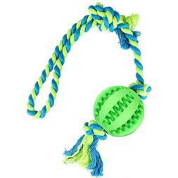 KAOSITONG Dog Chew Toys - Dog Rope Toy wit Ball Dog Toys Tug