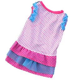 Ollypet Dog Dresses for Small Dogs Puppy Cat Girl Clothes Po