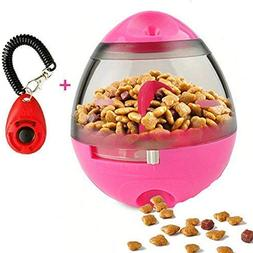 FAOUGESS Dog Food Dispenser Ball Toy, Pet Increase IQ Slow F