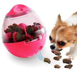 Soo Angeles Dog Food Dispenser Ball Toy Interactive IQ Treat
