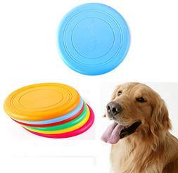 ZoyPet Dog Frisbee Fetch Throw Dog Toys Flying Disc Durable