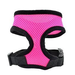 Farjing Dog Harness Soft Mesh Vest Dog Lead Leash Chest Belt