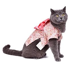 smalllee_lucky_store Small Dog Clothes Kimono Costume for Gi
