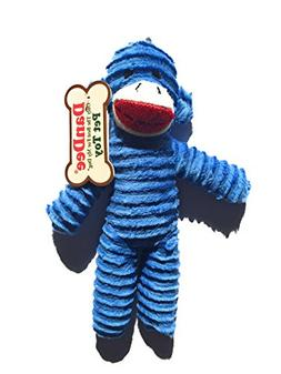 Dan Dee Only The Best For My Dog Pet sock Monkey Toy