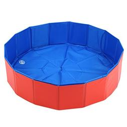 Legendog Dog Pool, Dog Swimming Pool Portable Collapsible Pe