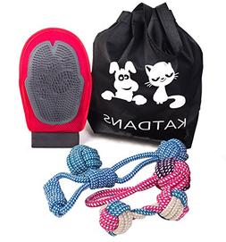 KATDANS Dog Rope Toy Set 5 Pack Including Braided Rope knots