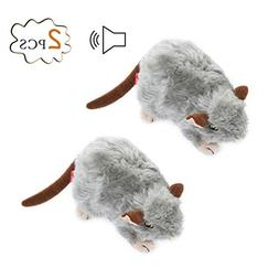 Petacc Dog Squeaky Toys Mouse Toy for Pets Cute Plush Toys,