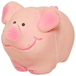 Amazing Pet Products Latex Dog Toy, 3.5-Inch, Pink Pig