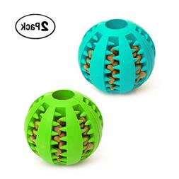 Idepet Dog Toy Ball, Nontoxic Bite Resistant Toy Ball for Pe