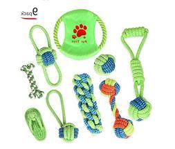 Zero Dog Toy Set Pet Rope Toys Cotton Rope Braided Rope Toys