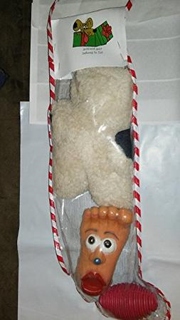 HM Large Dog Toy Stocking Full Holiday Toys - Styles Vary