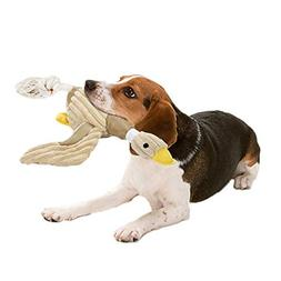 Bolux Dog Toys Stuffed Squeaking Duck Toy Plush Puppy Honkin