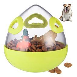 Petacc Dog Treat Ball Interactive Pet Food Leakage Ball Funn