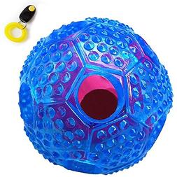 Yihata Dog Treat Ball Toy, Puzzle Toy for Treat or Food Disp