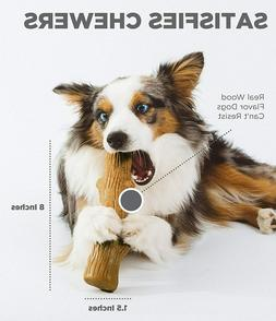 Petstages Dogwood Wooden Dog Chew Toy – Safe,Natural & Hea