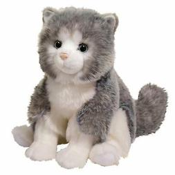 Douglas Plush Shadow Gray Cat Stuffed Animal, 14""