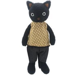JIARU Dressed Stuffed Animals Plush Toys Black Cats Dolls 9