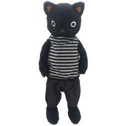 JIARU Stuffed Animals Cats Toys Plush Dressed Dolls with Rem