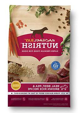 Rachael Ray Nutrish Natural Dry Dog Food, Real Beef & Brown