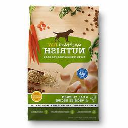 Rachael Ray Nutrish Natural Dry Dog Food, Real Chicken & Veg