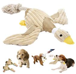 OUBEST Duck Dog Toy-Dog Squeaky Toys- Interactive Dog Toys S