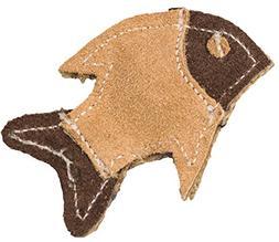 Dura Fused Leather Cat Toy -Fish 4